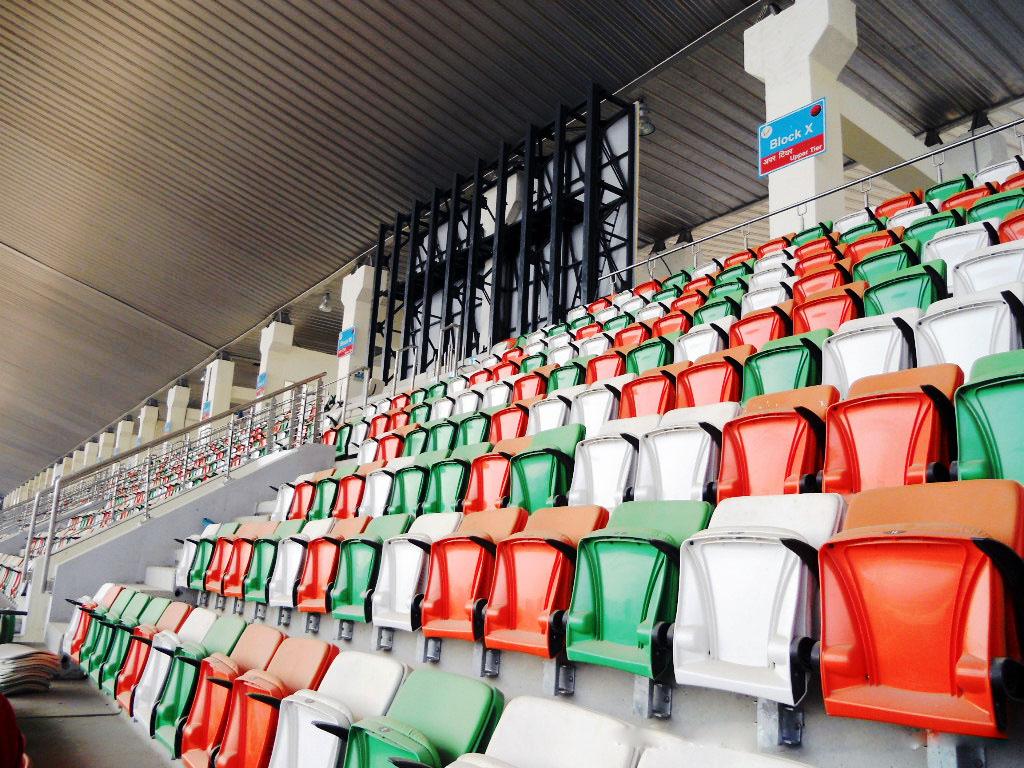 Grand Stand of Buddh International Circuit  F1 India 2011 5