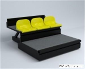 Borway Sports Tribune Seating System