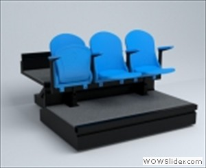 Luxe Telescopic Grandstand seating
